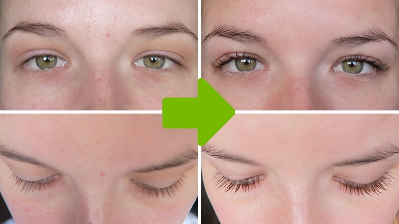 EYELASH GROWTH SERUM | Before & After 3 MONTHS - YouTube