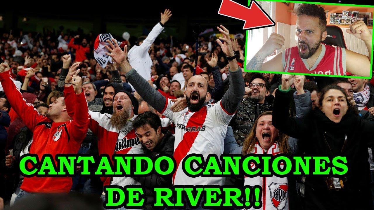 Español CANTA CANCIONES de LA HINCHADA DE RIVER!! #2