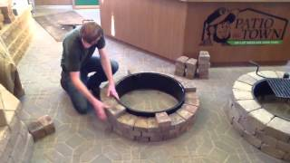 How to build a fire pit/fire ring