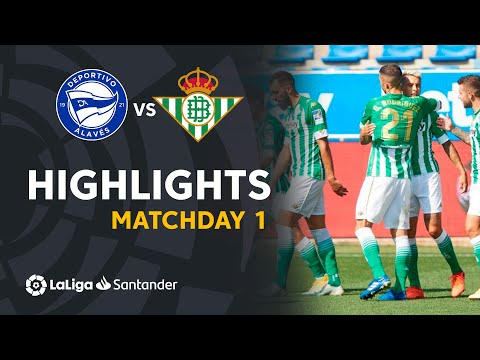 Alaves Betis Goals And Highlights