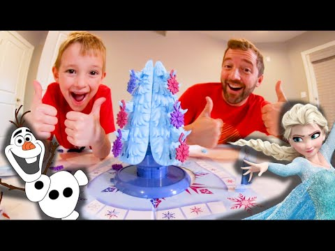 FATHER SON PLAY FRANTIC FOREST! / Frozen The Game!