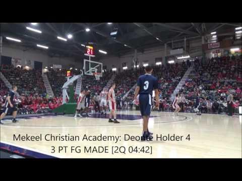 Game Highlights Boys' Varsity: Mekeel Christian vs Glens Falls