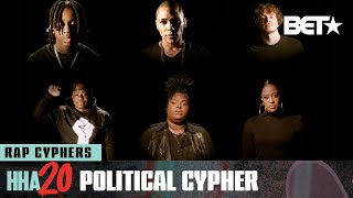 Polo G, Rapsody, Jack Harlow & More Spit Bars In This Political Cypher! | Hip Hop Awards 20
