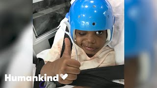 Five-year-old defies odds after brain surgery | Humankind