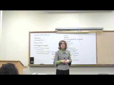 Speech Communication Intro 3
