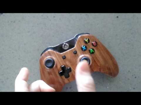 Wooden xbox one controller (case mod)