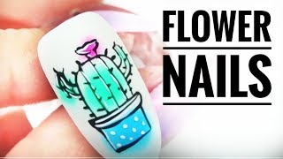 💅💅 :: Flower Nails :: 💅💅 Nailart by Natalia