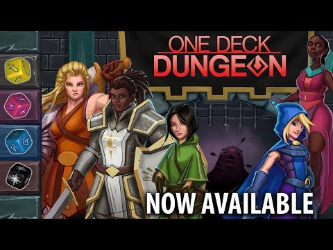 One Deck Dungeon Now Available! (Trailer)
