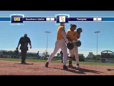Game 1 - CSI v. Temple: 2018 JUCO World Series