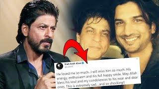 Shahrukh Khan REACTS To Sushant Singh Rajput's Shocking NEWS; Here's What He Said