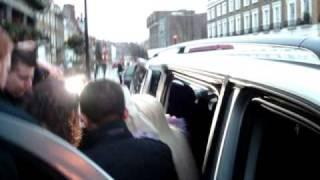 Gaga's arrival to Koko (Camden Town)