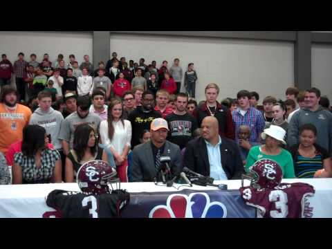 Josh Malone commits to the University of Tennessee