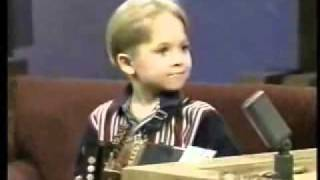 5 year old Hunter Hayes singing