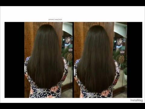 U\u0027 shape Hair cut , easy method \u0027U\u0027 shaped Haircut tutorial