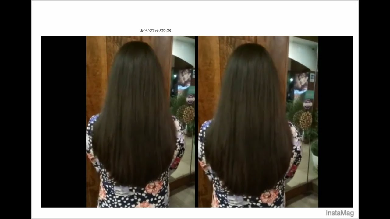 \u0027U\u0027 shape Hair cut , easy method \u0027U\u0027 shaped Haircut tutorial in Hindi ,  Expert by Shyama\u0027s Makeover
