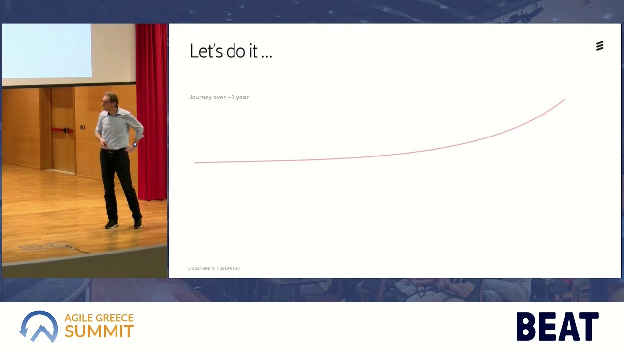 Agile Greece Summit 2018 Agile transformation experiences at Ericsson by  Hendrik Esser