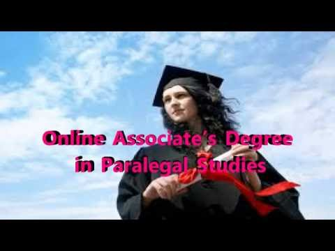 Online Associate's Degree in Paralegal Studies| Best Online Degree Programme & Begining Salary