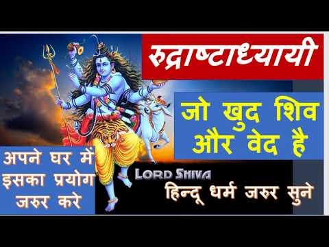 Rudri Path - Rudraashtadhyaayi | रुद्री पाठ - रुद्राष्टाध्यायी | chapter 1 & 2