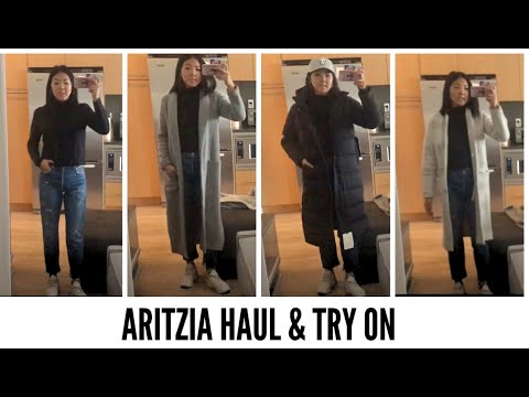 ARITZIA WINTER HAUL & TRY ON