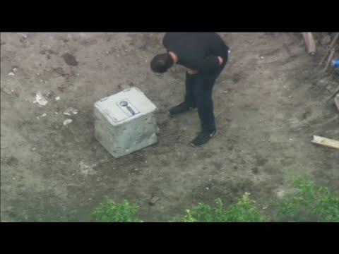 Safe discovered at former home of Pablo Escobar