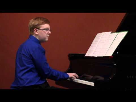 """Noah Rollins , Cathedral Echoes by Mona Rejino, from """"Portraits In Style"""", Hal Leonard Publishing"""
