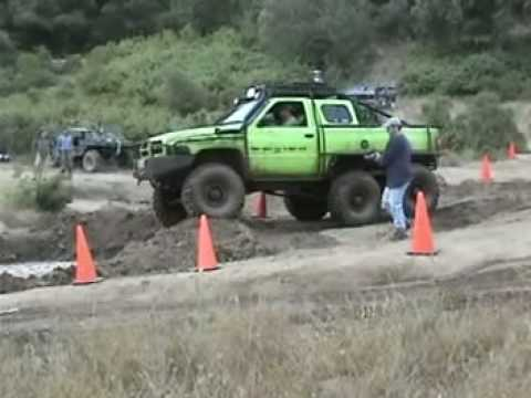 Dodge T-Rex 6x6 in off-road competitions