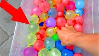 ВОДЯНЫЕ БОМБОЧКИ Челлендж с детьми Water balloon Fight Challenge 2016 Summer Fun