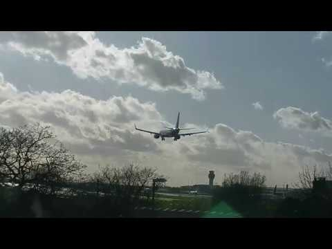 TUI G-TUMB to Manchester, was the last Boeing 737 MAX to land in UK