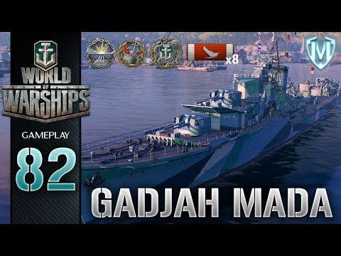 World Of Warships - Gadjah Mada - Gameplay PL #82