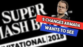 5 changes Armada wants to see in Smash 5 / Ultimate