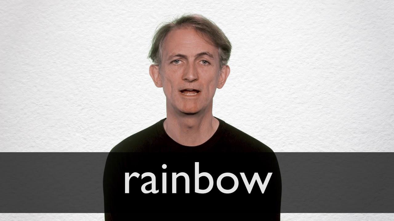 Rainbow Definition und Bedeutung  Collins Wörterbuch