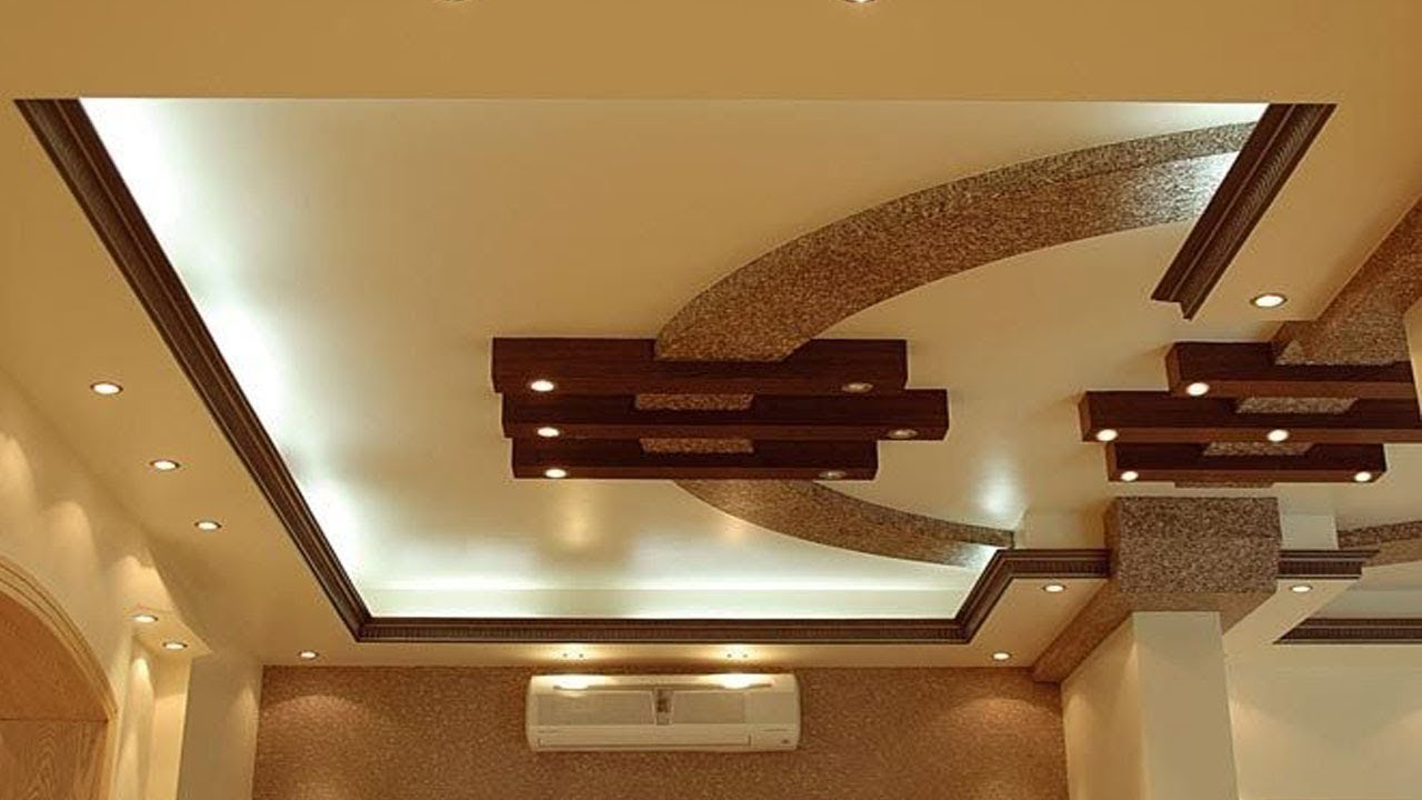 Gypsum Ceiling Design For Hall False Ceiling Design Ideas Pictures 2018 Youtube