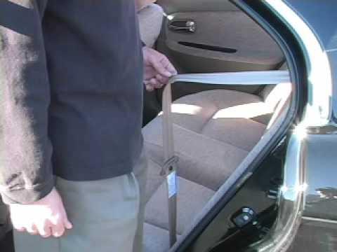 Installing Car Seats Evenflo Tribute 5 Rear Facing Youtube