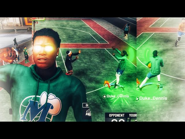 SoLLUMINATI 2k17 Jumphot makes my Stretch Big Demigod play like a Pure Stretch Big on NBA 2K19