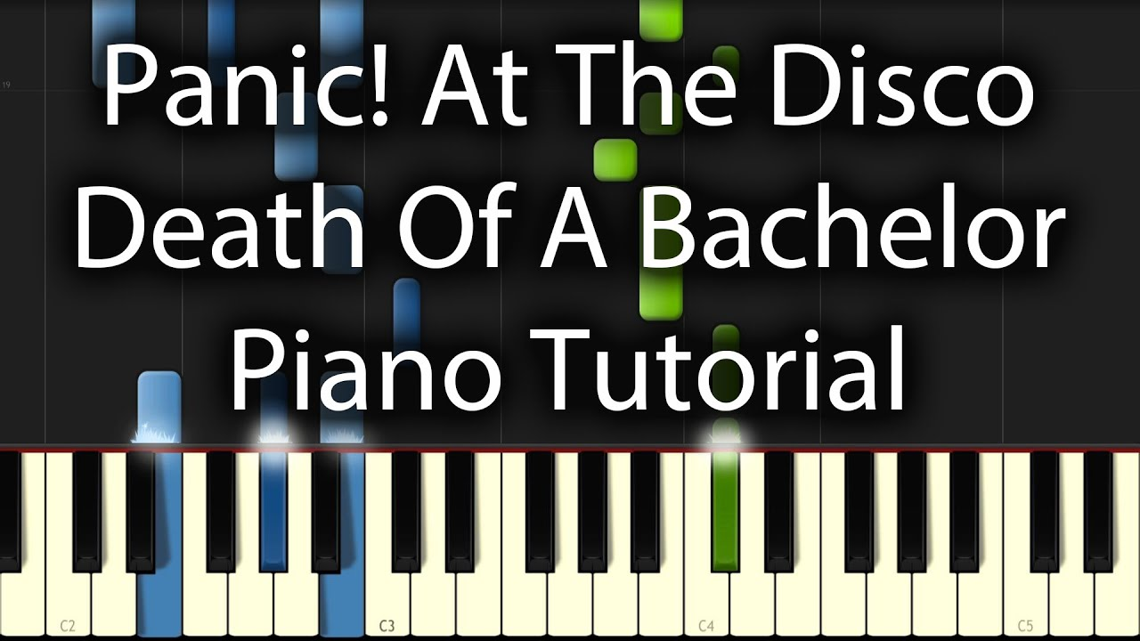 play panic at the disco death of a bachelor