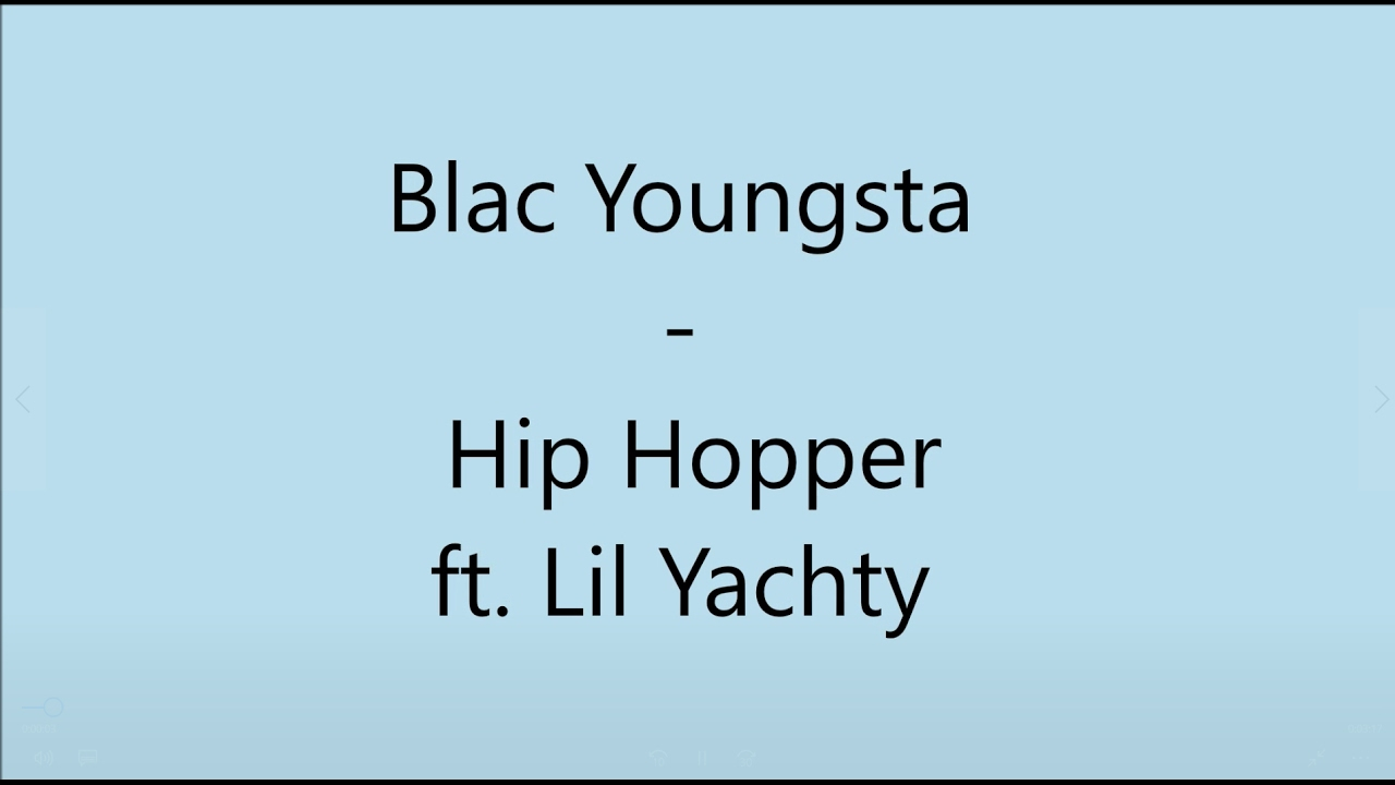 Blac Youngsta x Lil Yachty 'Hip Hopper' (Lyrics Video)