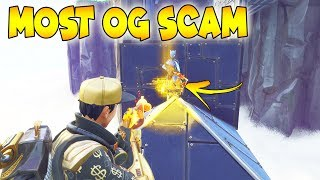 MOST OG SCAM 0% KNOW! (Scammer Gets Scammed) Fortnite Save The World