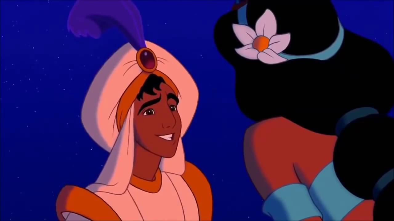 Aladdin And Jasmine First Kiss Hd Youtube - Youtube-7326