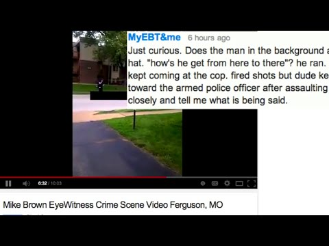 "Witness to Michael Brown shooting: ""dude kept coming towards the police"""