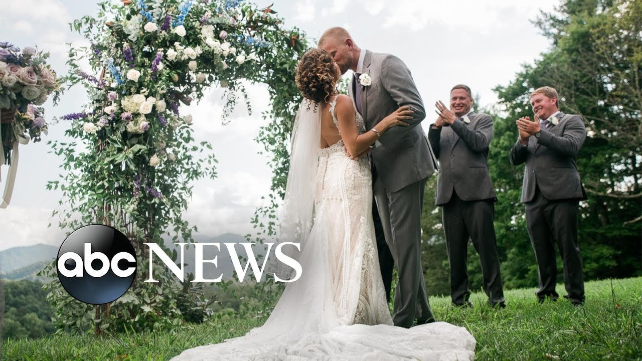 Couple devoted to Hurricane Irma relief efforts says 'I do' in donated dream wedding