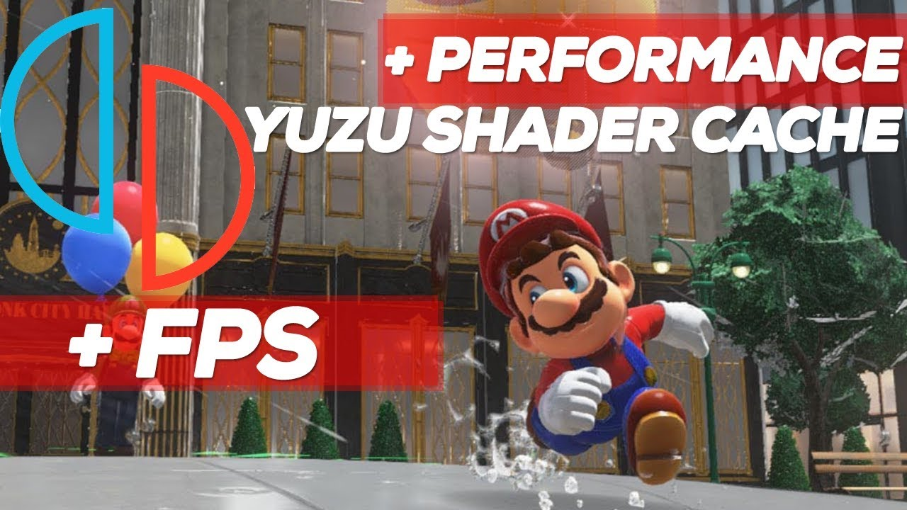 Download Yuzu Shader Cache build - Super Mario Odyssey on Ryzen™ 2600X