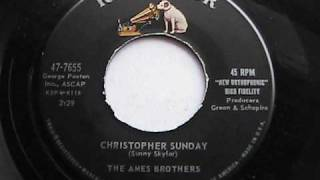 THE AMES BROTHERS CHRISTOPHER SUNDAY  RCA RECORDS
