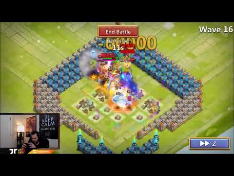 JT's F2P Castle Crisis Ember Army Impster Having Fun Castle Clash