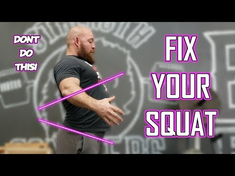 Squat Series #1: Bracing Correctly and How to Breathe During a Squat (POSTURE IS KEY!)
