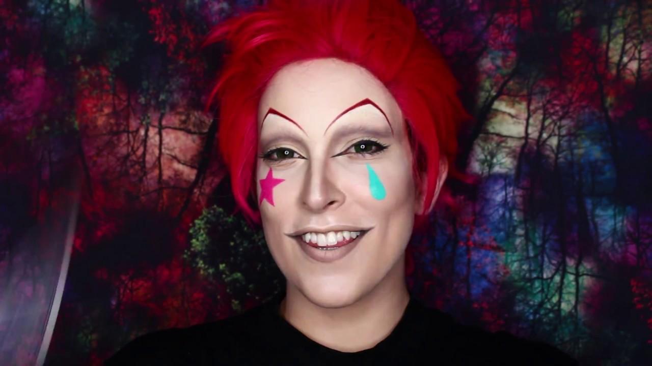 Hisoka Hunter x Hunter Cosplay Makeup Tutorial - YouTube