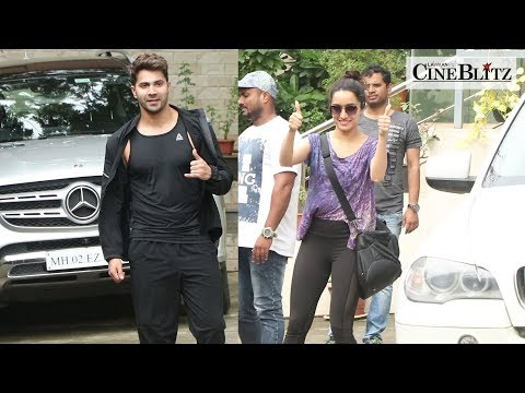 Shraddha Kapoor & Varun Dhawan Spotted At Dance Class For Rehearsal | CineBlitz