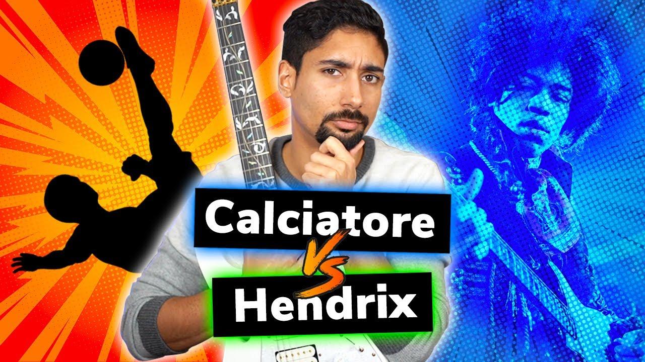 Questo CALCIATORE ha ispirato più chitarristi di JIMI HENDRIX? Divulgazione e Lezioni di Chitarra