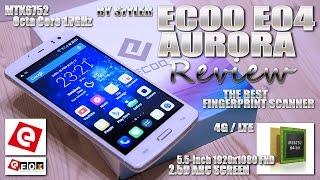 "ECOO E04 Aurora, 4G/LTE [REVIEW] MTK6752 64-Bit 1.7GHz Octa Core, 5.5"" FHD ARC, Fingerprint ID, 2GB"