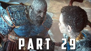GOD OF WAR Walkthrough Gameplay Part 29 - THE HAMMER (God of War 4)