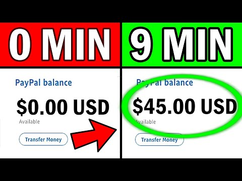 💰 Earn $5 per Minute on PayPal (WORKING 2019!)